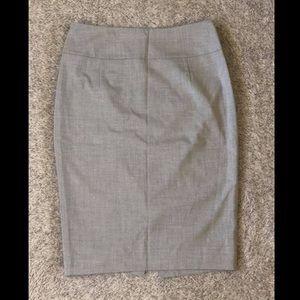 Light Gray Pencil / Business Skirt